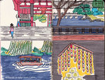 京都のシンボルpart4(モレスキン画)